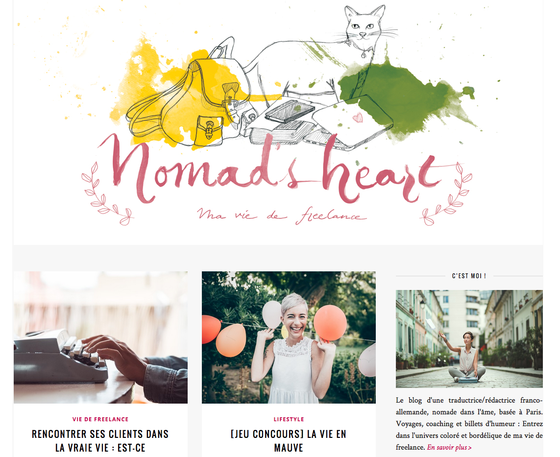 Nomad's heart le blog d'une freelance accomplie