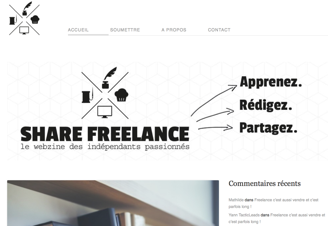 share freelance un blog communautaire qui encourage