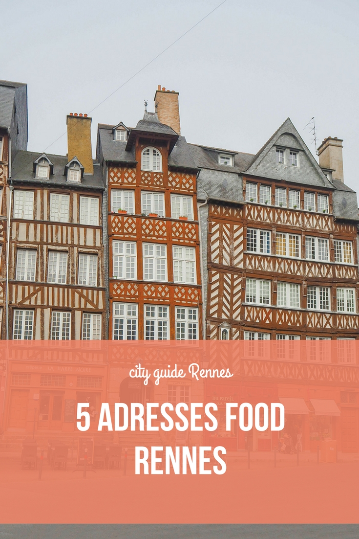 5 adresses restaurants à Rennes