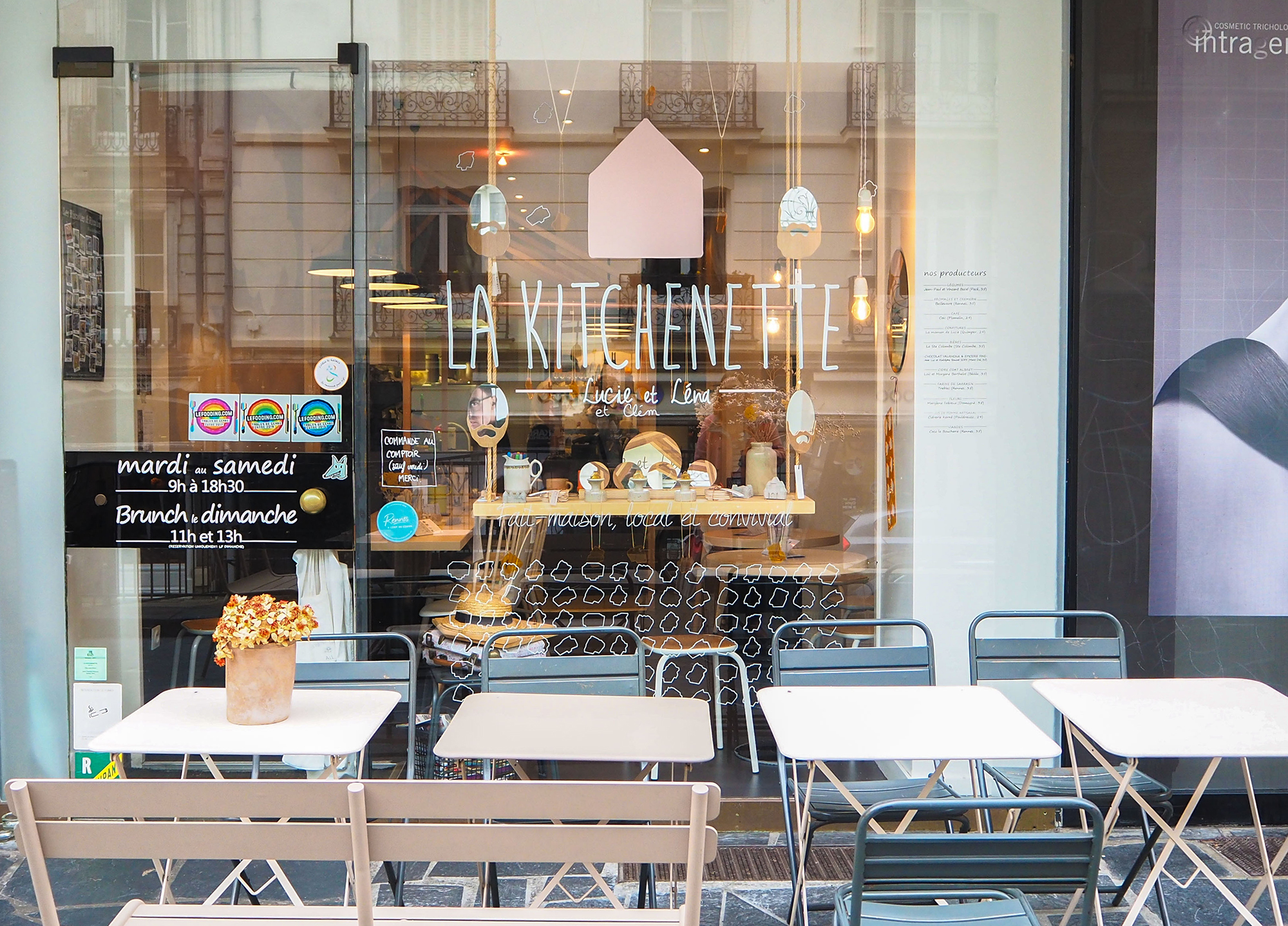 La kitchenette - coffee shop et restaurant bonne adresse rennes