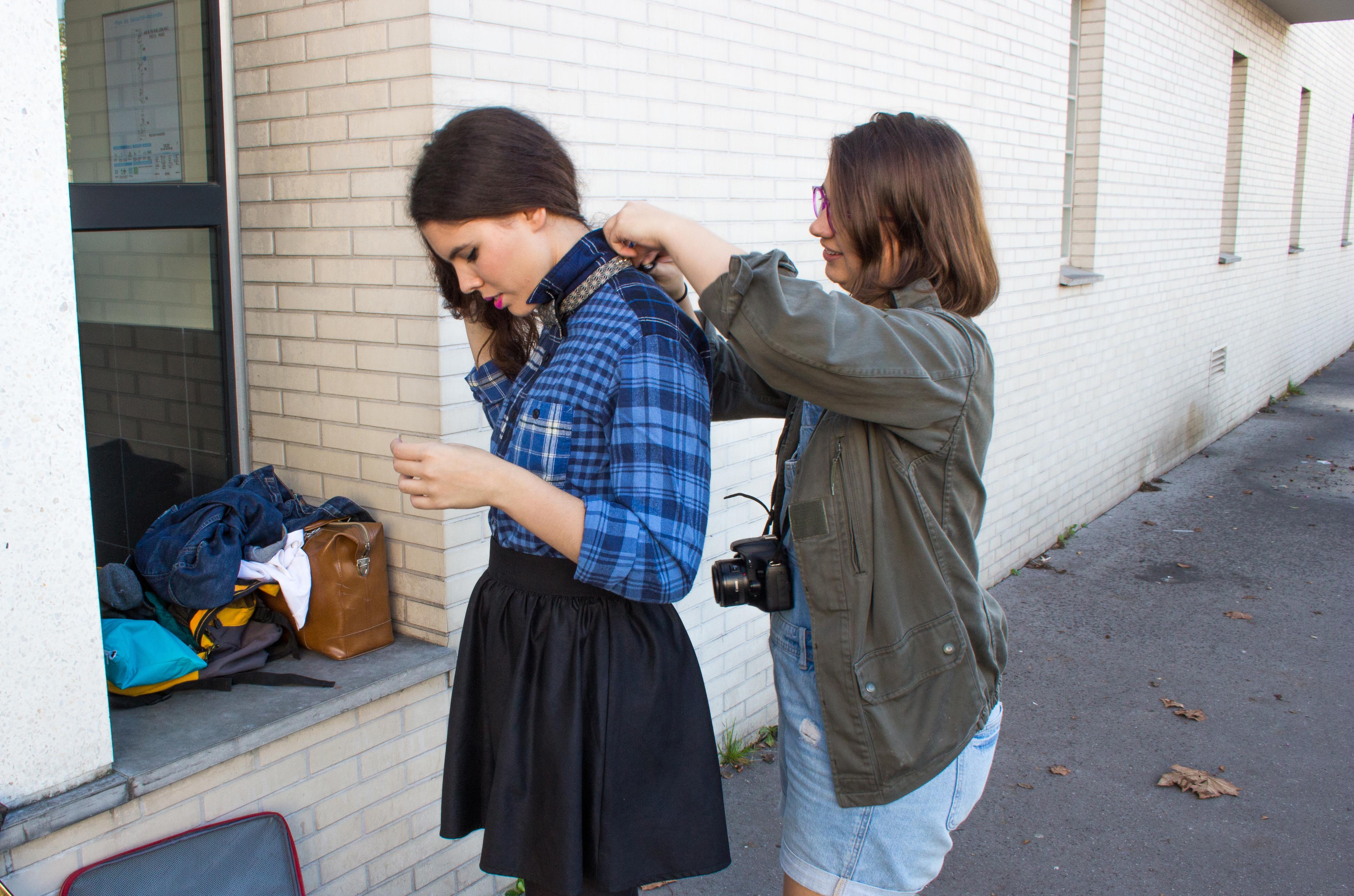 Mes astuces pour  ajuster tes vêtements durant un shoot photo