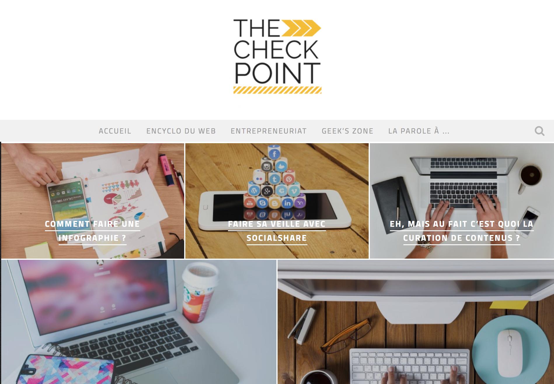 The checkpoint le blog pour tout comprendre des coulisses d'un blog
