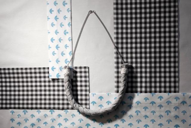 DIY collier tresse