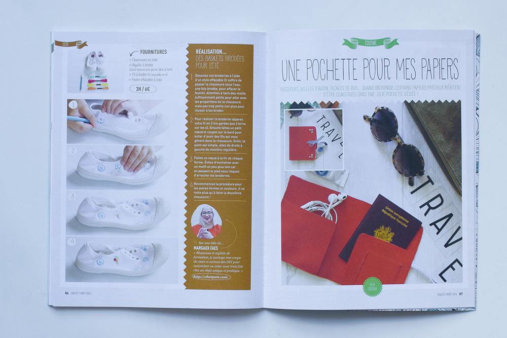 Créative magazine un magazine spécial DIY