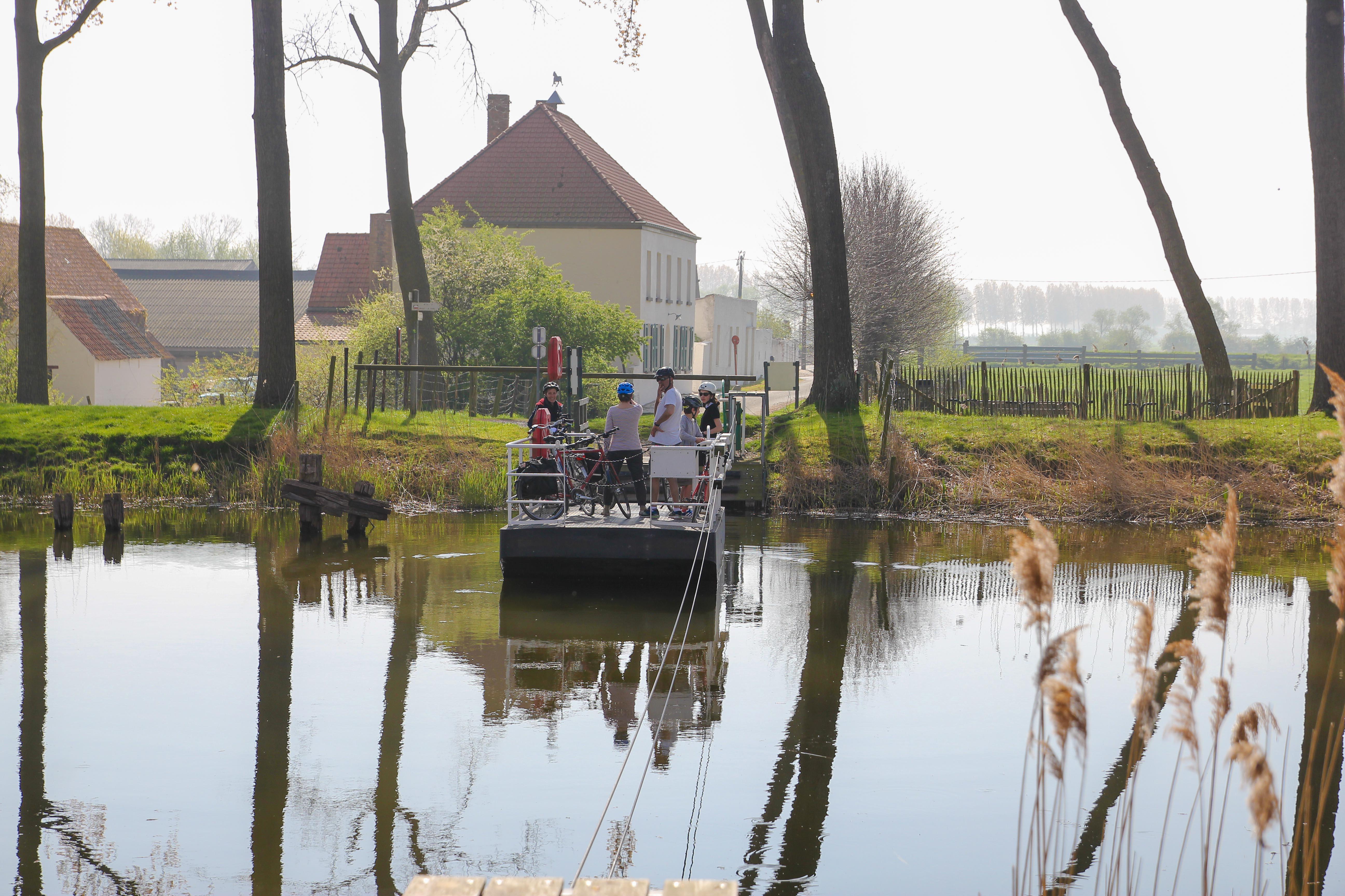 Sluis - balade à vélo entre Sluis et les palges de hollande