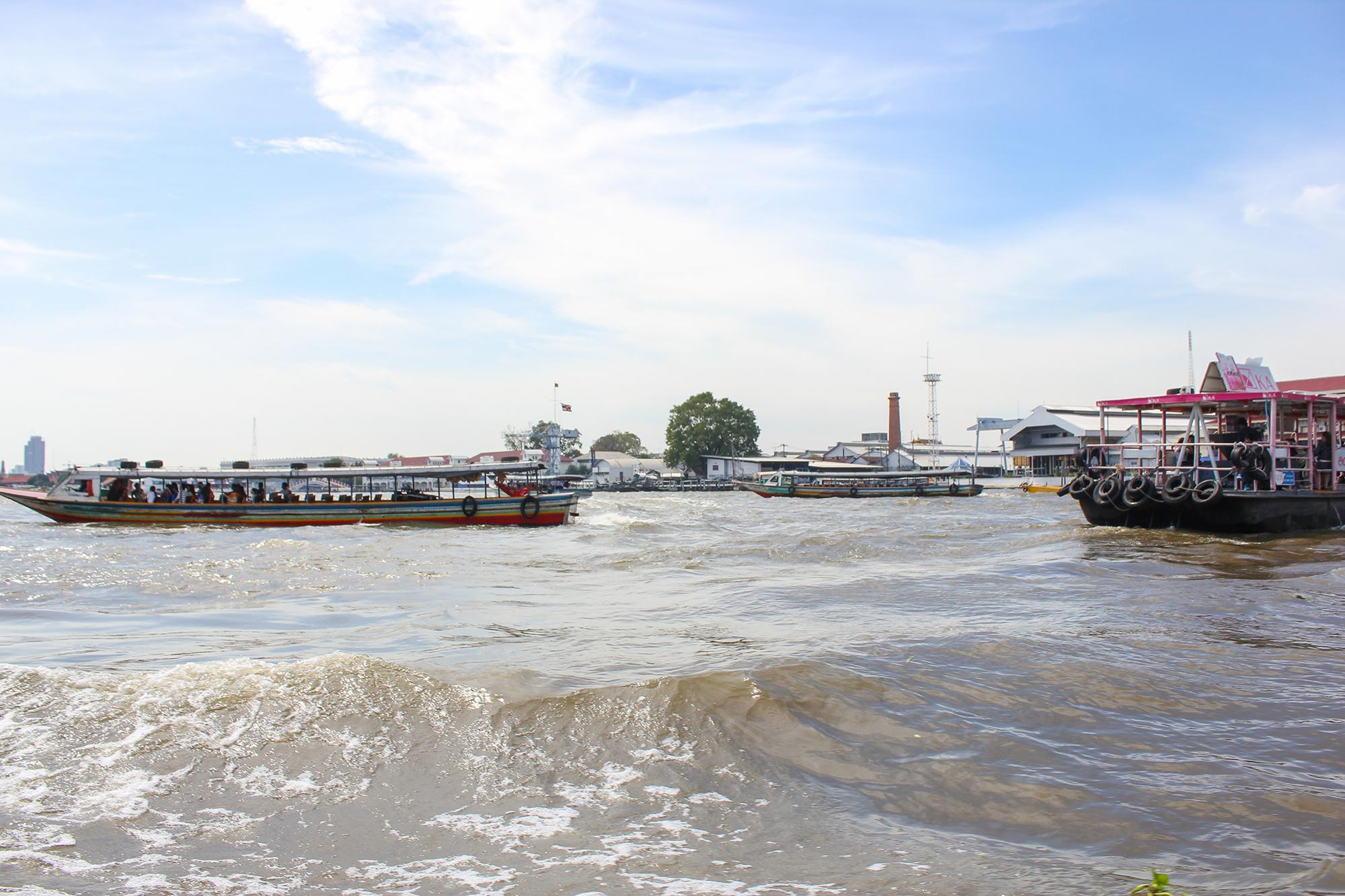 Fleuve prao phaya, Bangkok
