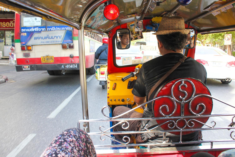 tuk tuk bangkok thailande