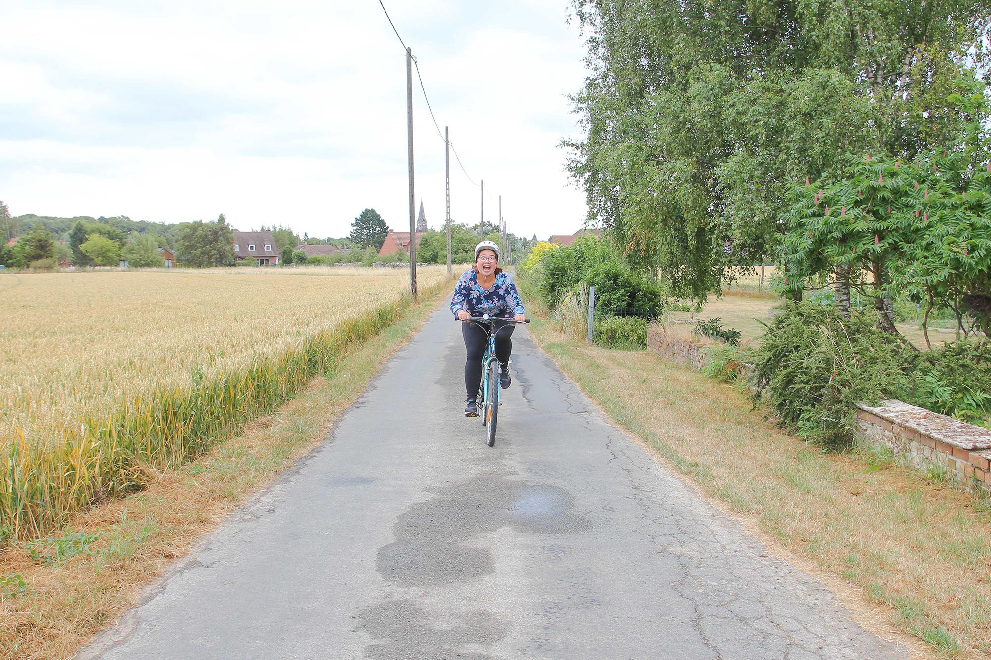 Lille amsterdam à vélo mon défi sportif