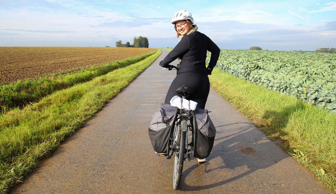 Voyager à vélo quand on est une femme
