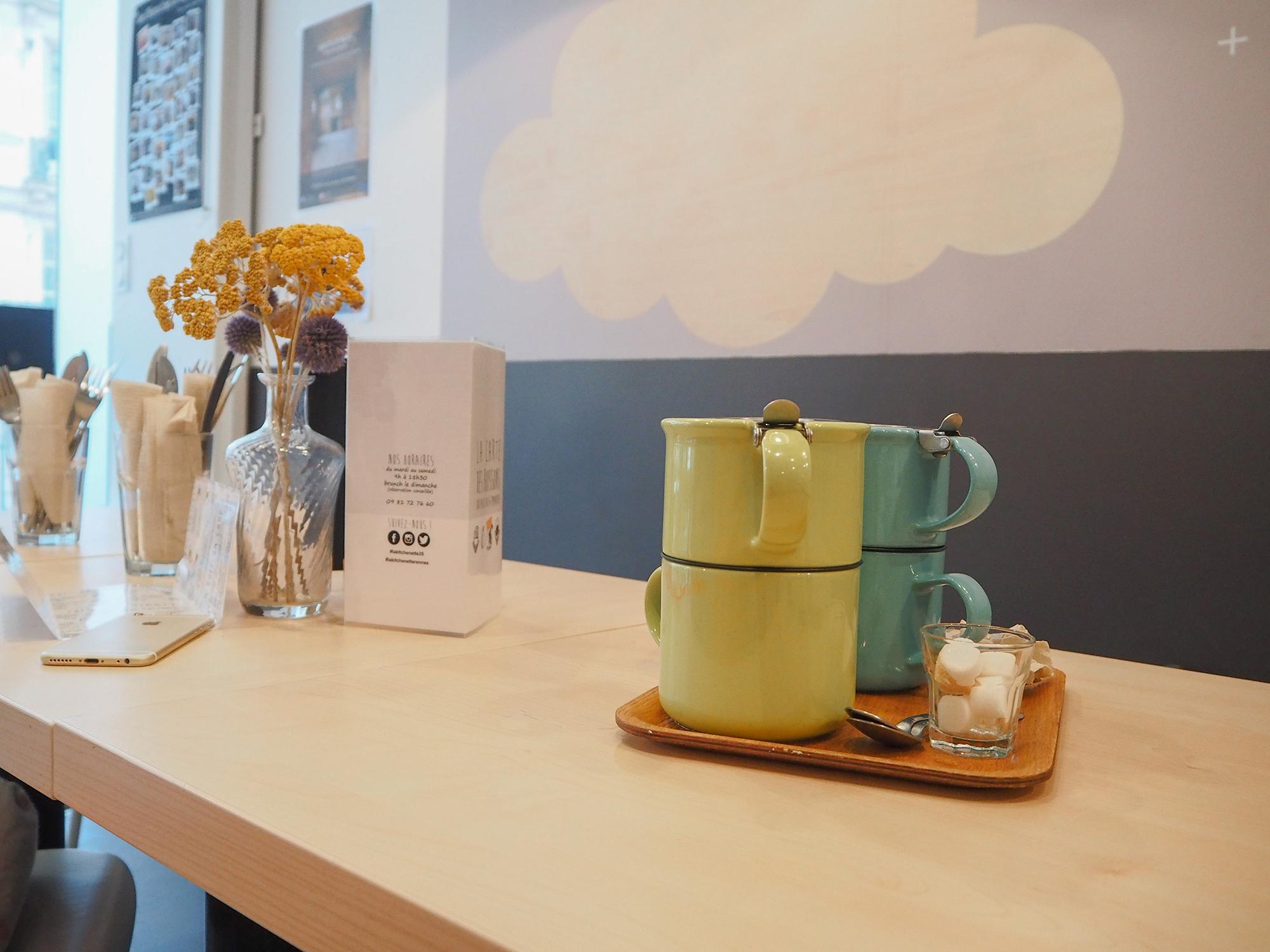 La kitchenette - coffee shop et restaurant bonne adresse rennes