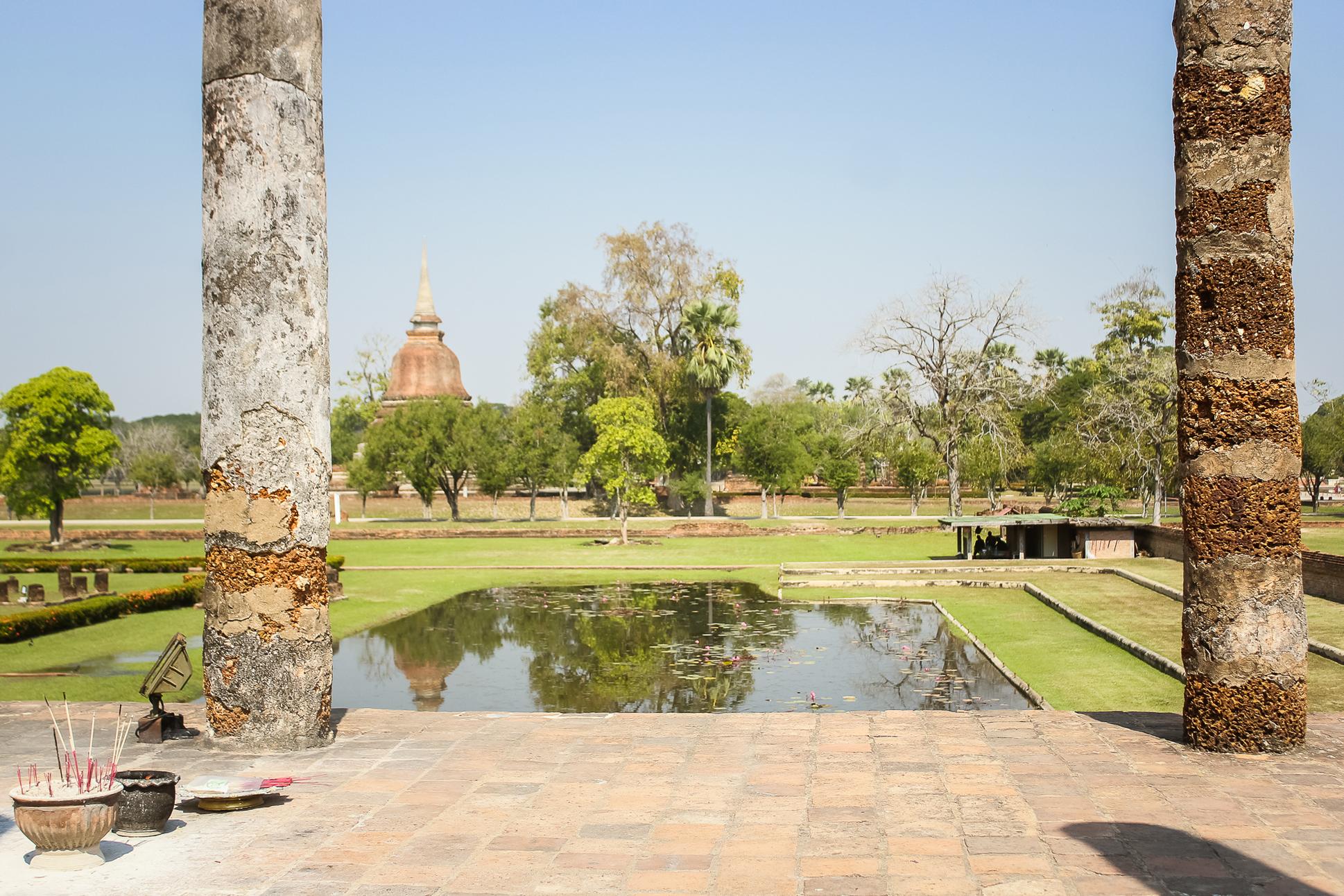 Bouddha, centre historique Sukhothai