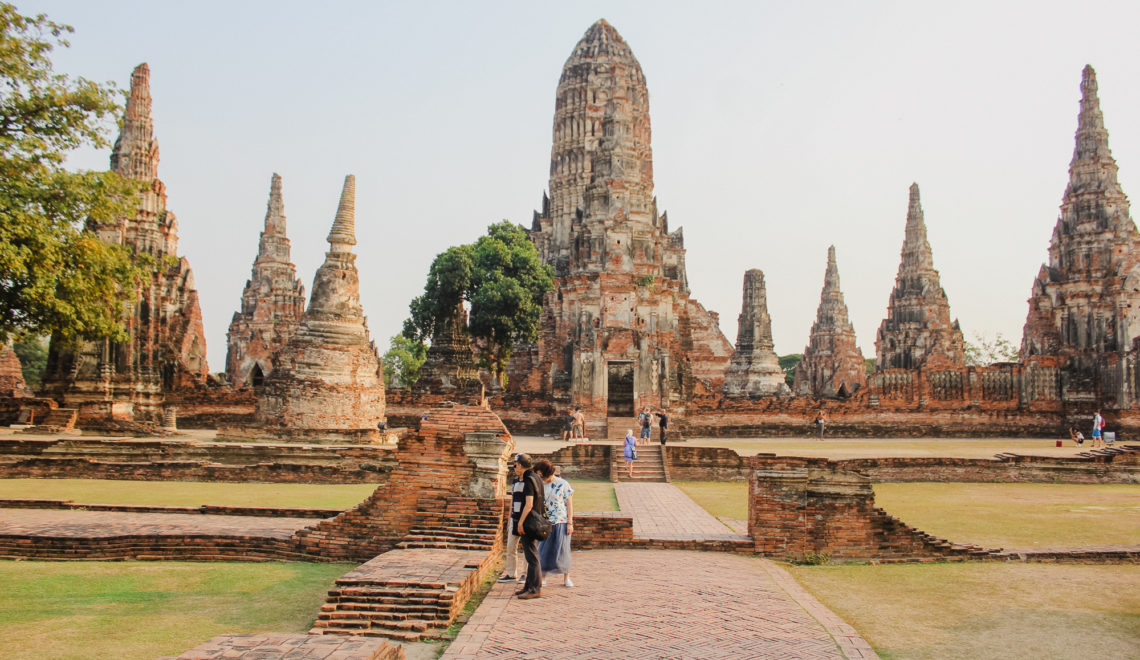 Ayutthaya thailande ville des temples