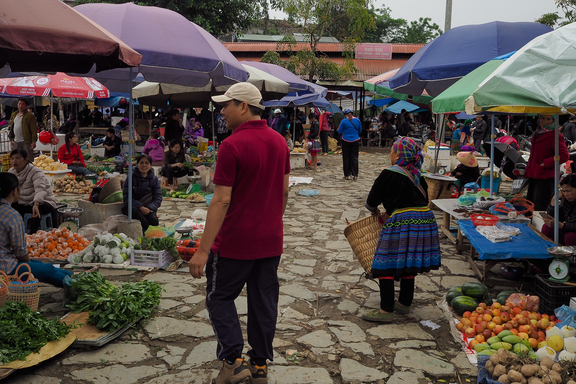 visiter Bao lac marché nord vietnam