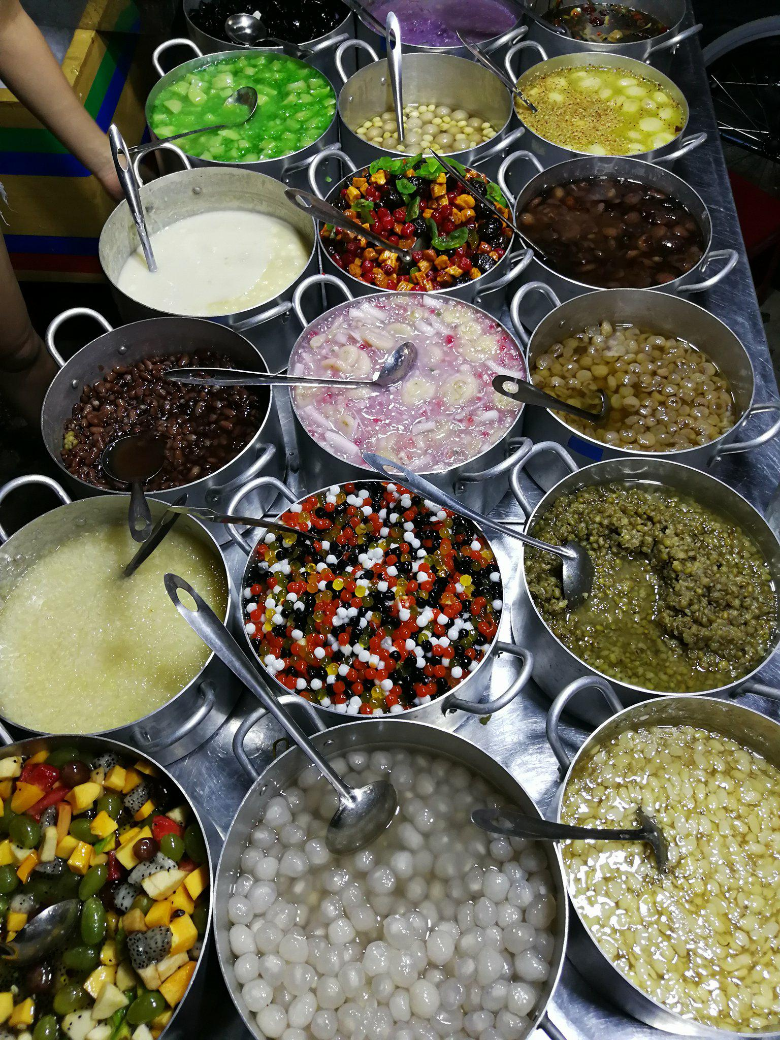 dessert sucrée Vietnam - voyage