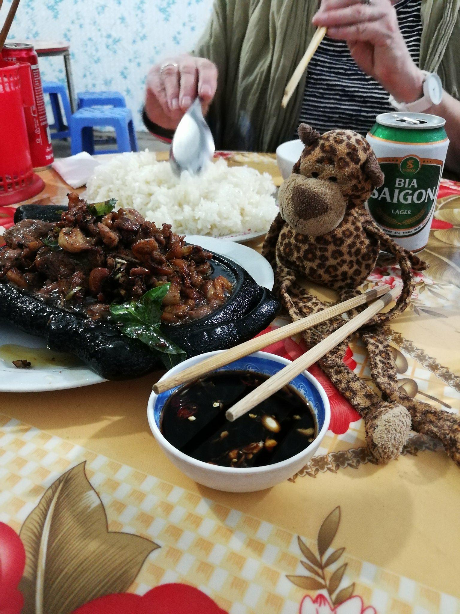 canard la viande du vietnam voyage