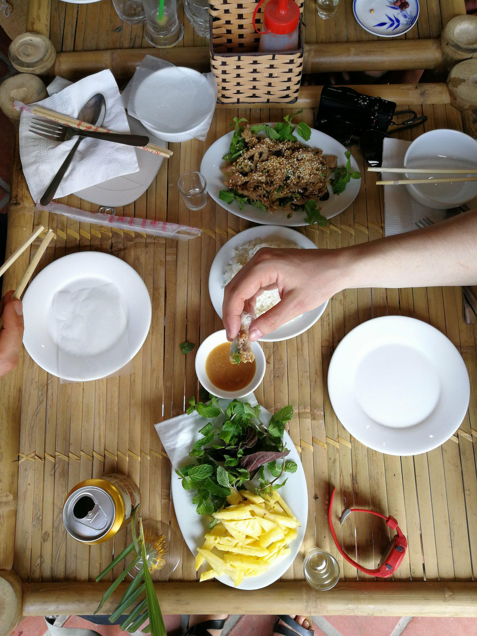 chevre grillé plat vietnamien voyage