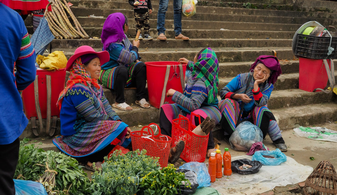 Marché de Bac Ha - Nord Vietnam - travel guide