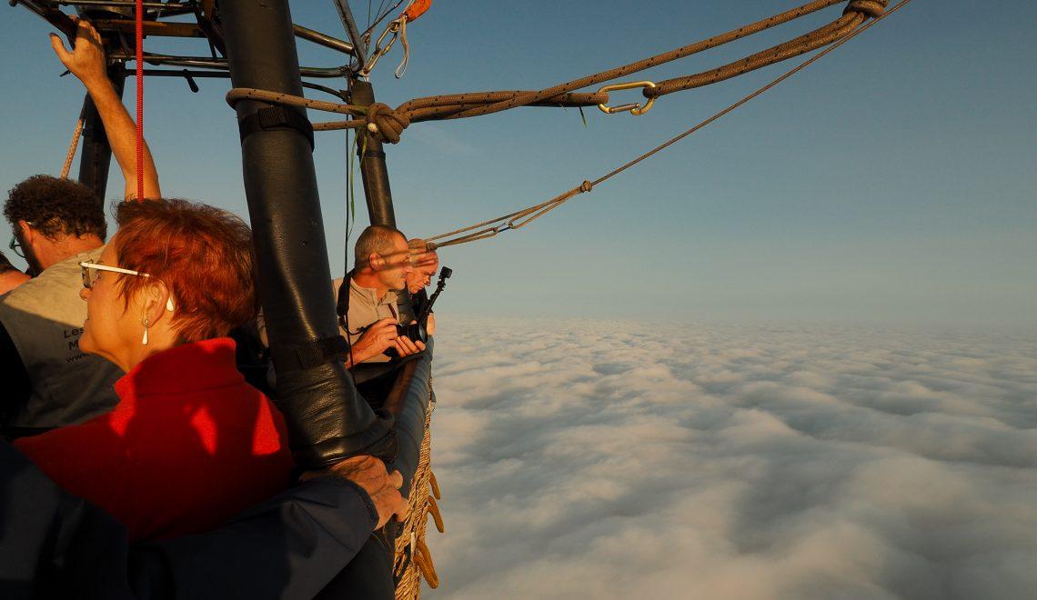 bapteme en montgolfiere - nord de la france - récit