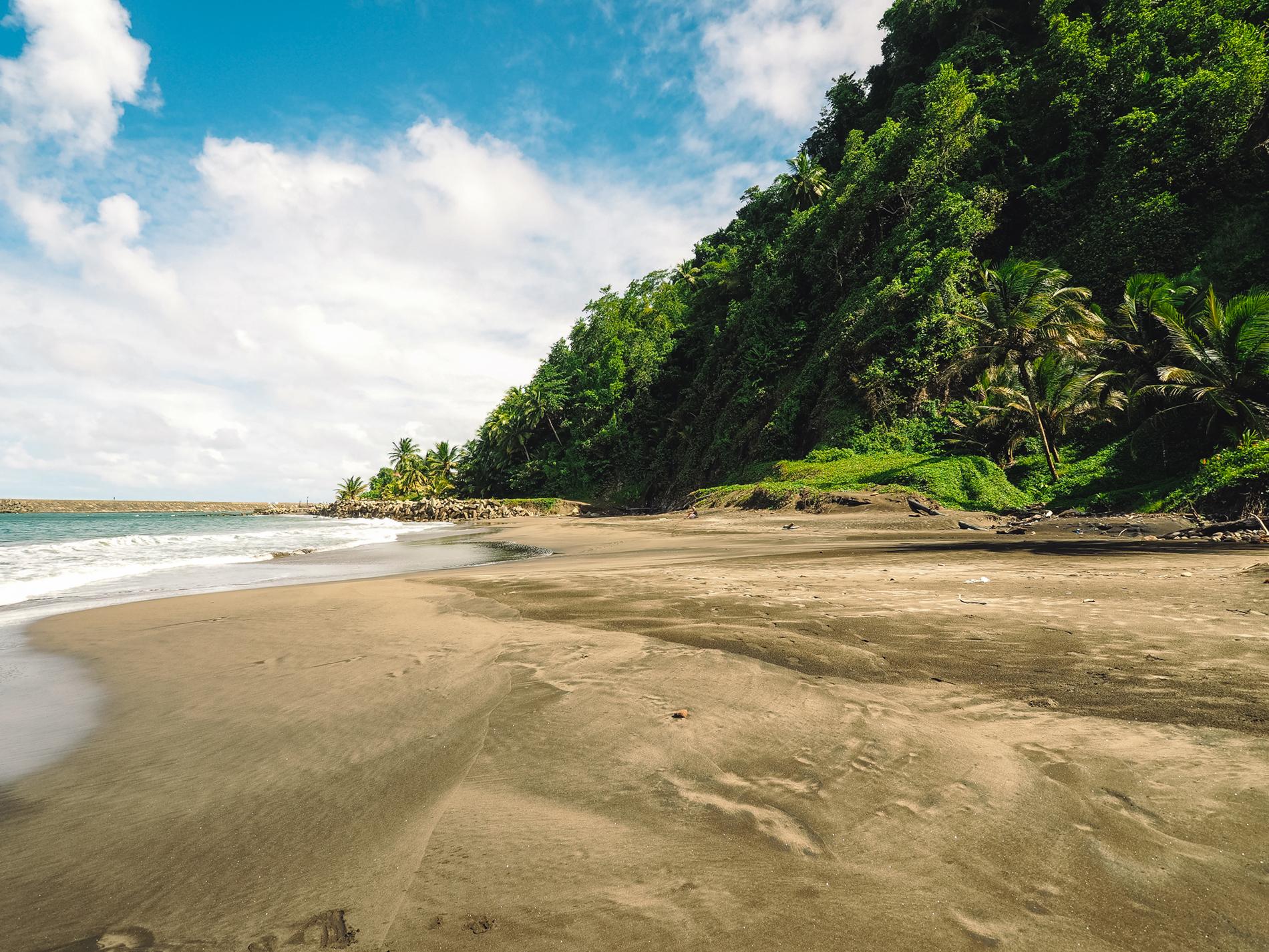 Anse morne rouge à grand riviere Martinique blog voyage martinique sauvage