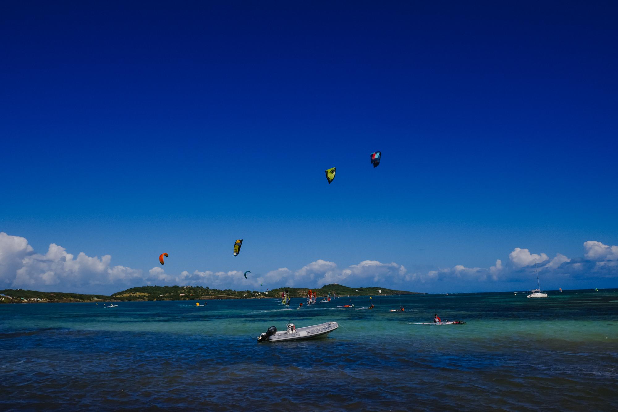 Pointe Faula Martinique kite surf