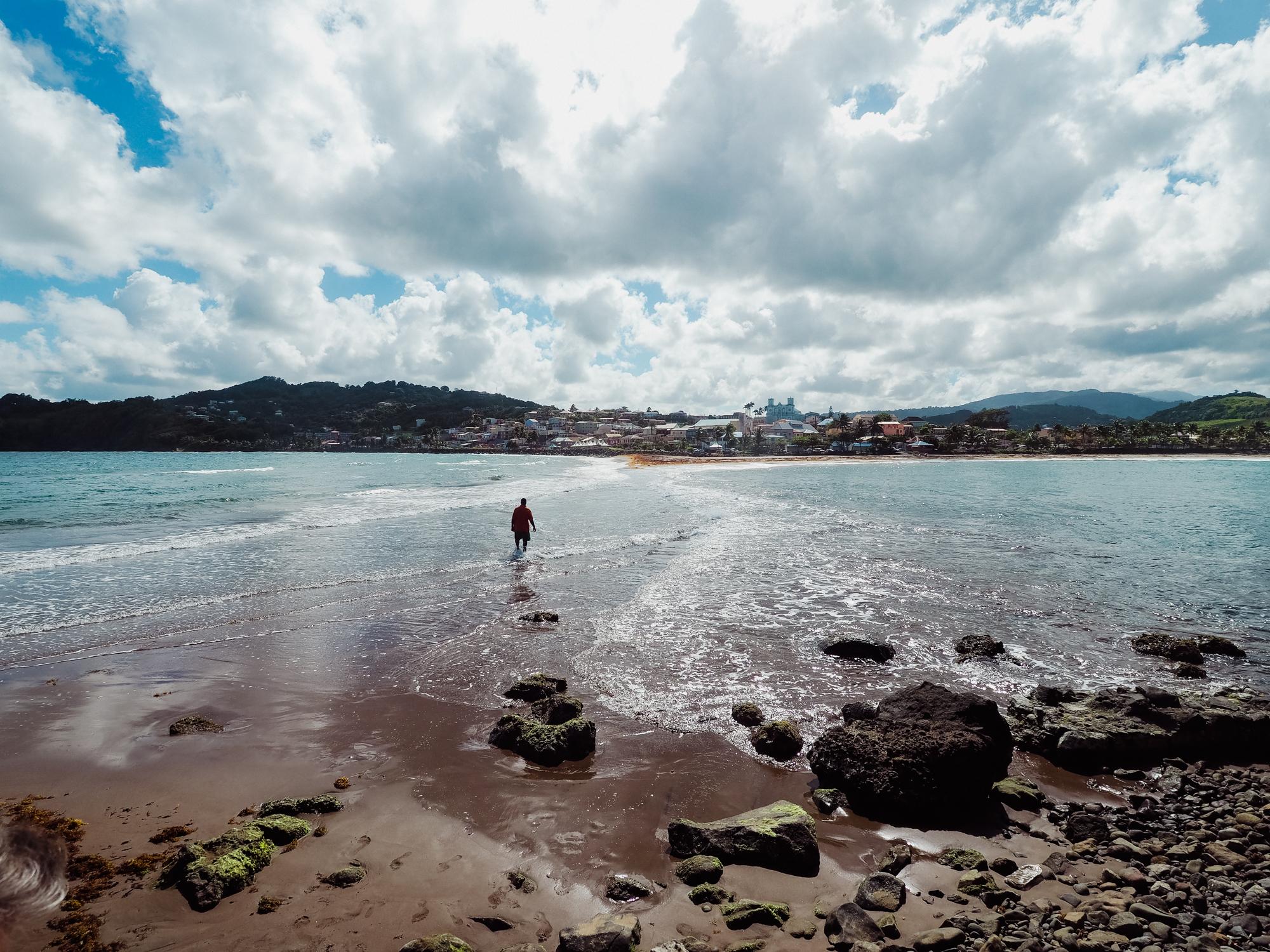 Tombolo Sainte-Marie, Martinique blog voyage