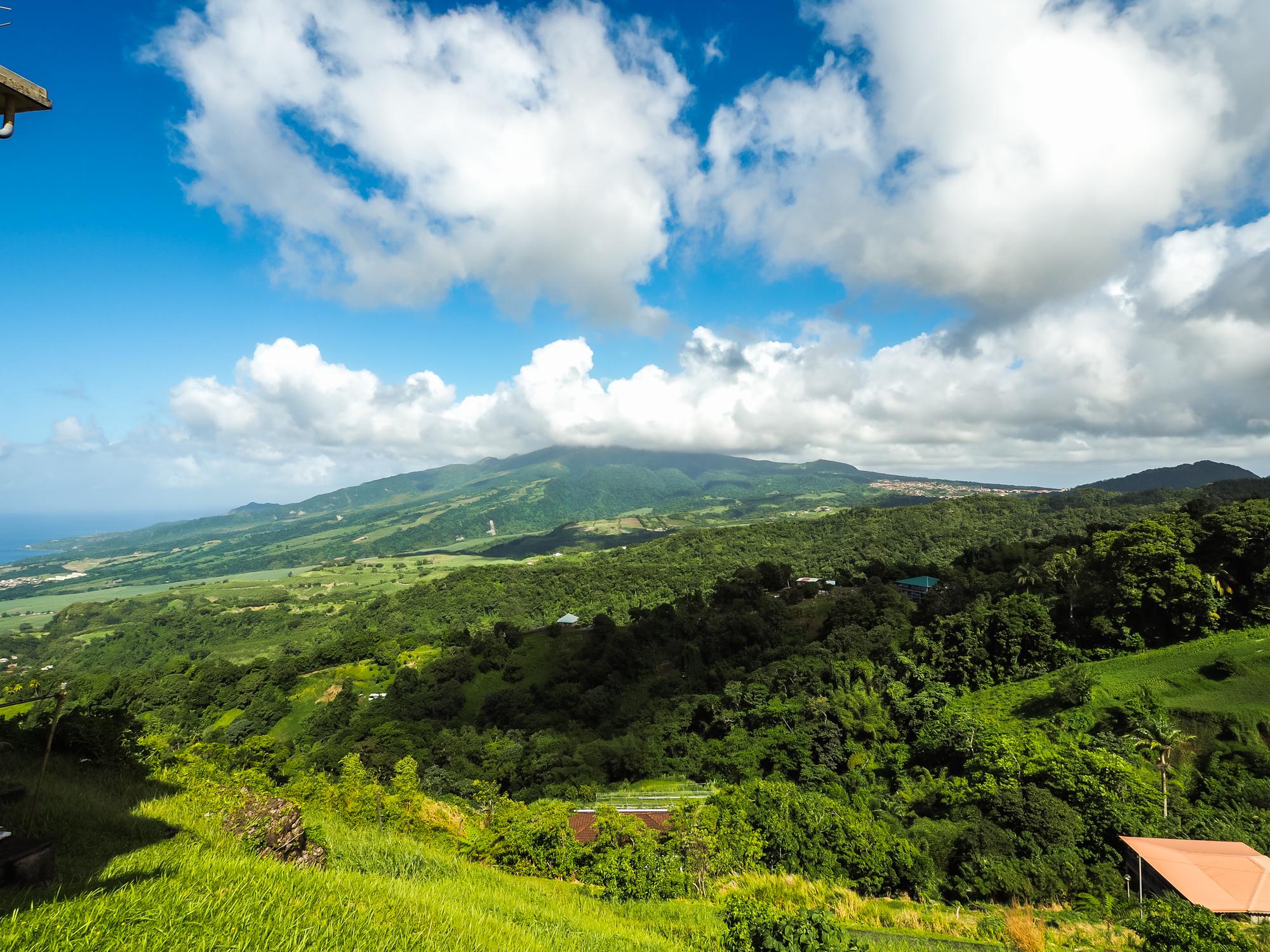 Montagne pelée, Martinique blog voyage martinique sauvage