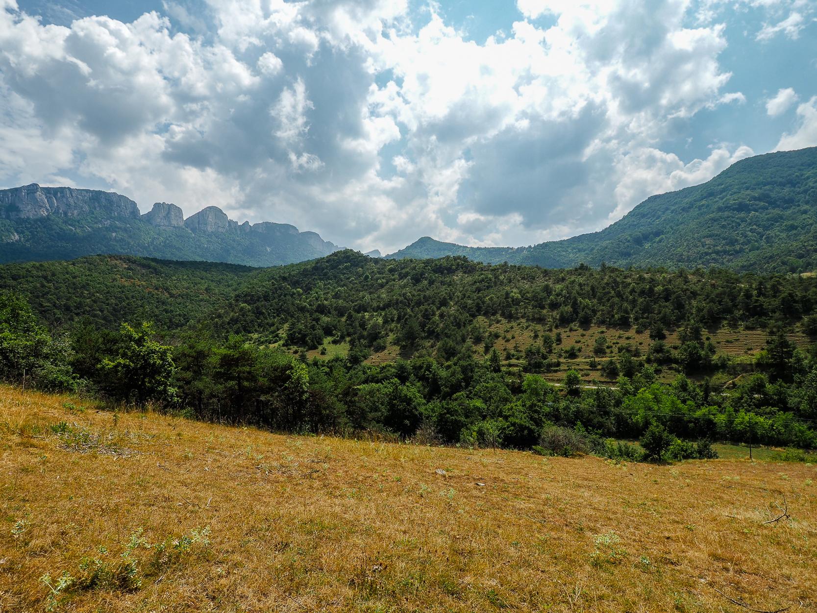 voyager dans la drôme et l'isère -gorge d'oyans Samson-rochefort blog voyage