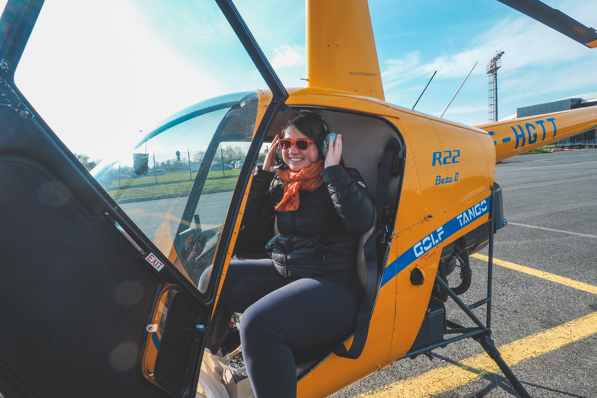 Faire un baptême en hélicoptère au dessus d'Etretat avis